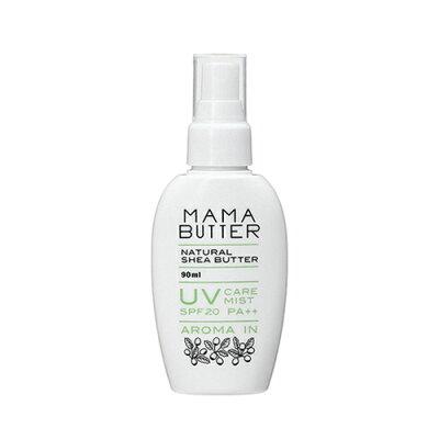ママバター MAMA BUTTER UVケアミスト アロマイン SPF20 PA++ 90mL 日焼け止め