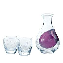 冷酒グラス 【ギフト】東洋佐々木ガラス 冷酒セット(雪月花) (G604-M51) [和風 迎春 ハンドメイド][日本製]