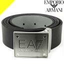 アルマーニ ベルト(メンズ) エンポリオアルマーニ EMPORIO ARMANI EA7 ベルト メンズ 2020年春夏新作 ブランド カジュアル おしゃれ 大きいサイズ プレゼント ギフト 男性 ゴルフ 黒 ブラック 245524 8A693 07320