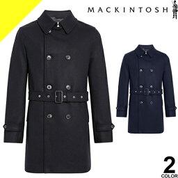 マッキントッシュ マッキントッシュ MACKINTOSH コート メンズ ウール トレンチコート ショート GM-005F メルトンコート チェスターコート ブランド 大きいサイズ ビジネス ブラック ネイビー