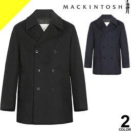 マッキントッシュ マッキントッシュ コート Pコート ウールコート メンズ ブルーム BROOM ブランド ウール 大きいサイズ 冬 暖かい カジュアル ビジネス 黒 ブラック ネイビー MACKINTOSH GM-1017F