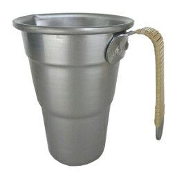 酒 タンポ アルミ酒タンポ 籐ツル巻 5号 1段400cc 2段730cc 満水1000cc 560159_KG