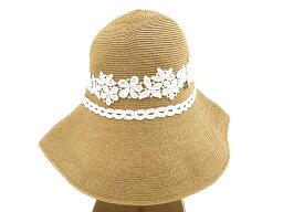 アシーナニューヨーク Athena New York アシーナ ニューヨーク AMACA アマカ ANY Alexa Special Hat ホワイトレース ハット 麦わら帽子 UV /ka20180417-8 /レディース