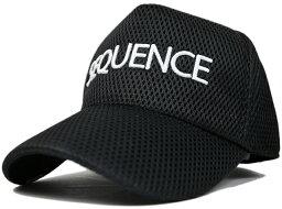 ビッグワッチ 大きいサイズ 帽子 L XL 『SEQUENCE』 ゴルフ スポーツキャップ BIGWATCH ブラック メッシュキャップ CPG-01