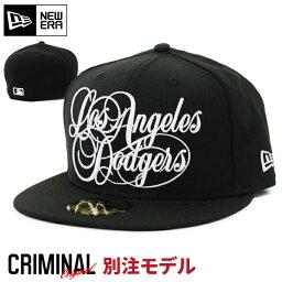 ニューエラ 当店限定別注モデル ニューエラ キャップ 【LOS ANGELES DODGERS】 NEW ERA 59FIFTY CAP ニューエラキャップ ロサンゼルス ドジャース ブラック WESTCOAST LA 大きいサイズ メンズ 帽子 NEWERAストレートキャップ