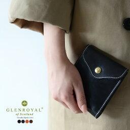 グレンロイヤル 財布(メンズ) GLENROYAL グレンロイヤル SLIDING WALLET ブライドルレザー スライディングウォレット 二つ折り財布・03-5956 (ユニセックス) 【送料無料】