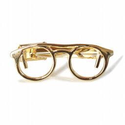 鎌倉カフス工房 ネクタイピン 鎌倉カフス工房 ゴールド眼鏡デザインネクタイピン・タイバー メンズ cf1932