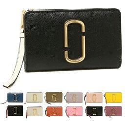 マークジェイコブス 財布(レディース) 【返品OK】マークジェイコブス 二つ折り財布 スナップショット レディース MARC JACOBS M0014281 M0013356
