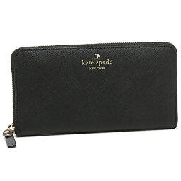 ケイトスペード 財布(レディース) ケイトスペード 長財布 レディース ブラック PWRU3898 001