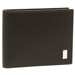 ダンヒル 二つ折り財布(メンズ) 【返品OK】ダンヒル 二つ折り財布 サイドカー ダークブラウン メンズ DUNHILL FP3070E
