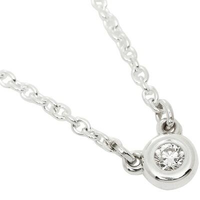 ティファニー ネックレス アクセサリー TIFFANY&Co. 24944387 エルサペレッティ ダイヤモンドバイザヤード 0.03ct ペンダント シルバー