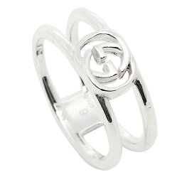 グッチ 指輪 【返品OK】グッチ GUCCI 指輪 リング アクセサリー レディース/メンズ GUCCI 298036 J8400 8106 インターロッキングGチャーム 指輪 シルバー