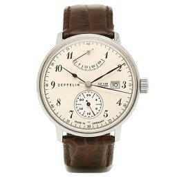 ツェッペリン ツェッペリン Zeppelin 時計 腕時計 メンズ ツェッペリン 時計 メンズ ZEPPELIN 70604 LZ129 ヒンデンブルグ 自動巻 腕時計 ウォッチ ブラウン/ホワイト