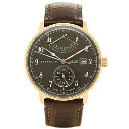 ツェッペリン ツェッペリン Zeppelin 時計 腕時計 メンズ ツェッペリン 時計 メンズ ZEPPELIN 70642 HINDENBURG 自動巻 腕時計 ウォッチ ブラウン/グレー