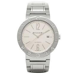 ブルガリブルガリ 腕時計(メンズ) 【期間限定ポイント5倍】ブルガリ 時計 メンズ BVLGARI BB42WSSDAUTO ブルガリブルガリ 自動巻き 腕時計 ウォッチ ホワイト/シルバー