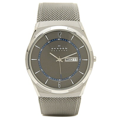 【4時間限定ポイント10倍】スカーゲン 時計 メンズ SKAGEN SKW6078 TITANIUM チタン 腕時計 ウォッチ シルバー/チタン