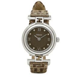 フェンディ フェンディ 時計 レディース FENDI F271222DF MODA モダ 腕時計 ウォッチ ブラウン/シルバー/ブラック
