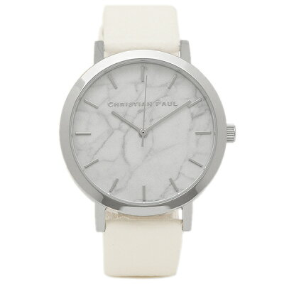【38時間限定ポイント5倍】クリスチャンポール 腕時計 CHRISTIAN PAUL MRL-03 シルバー/ホワイト