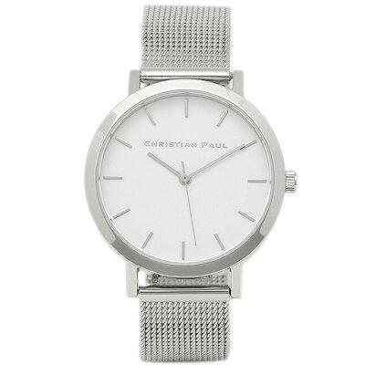 【4時間限定ポイント10倍】クリスチャンポール 腕時計 CHRISTIAN PAUL RWML-03 シルバー ホワイト