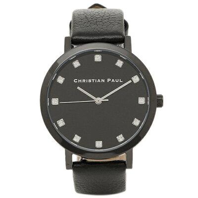 【4時間限定ポイント10倍】クリスチャンポール 腕時計 CHRISTIAN PAUL SWL-01 ブラック