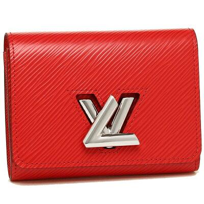【24時間限定ポイント5倍】ルイヴィトン 二つ折り財布 レディース LOUIS VUITTON M64413 レッド