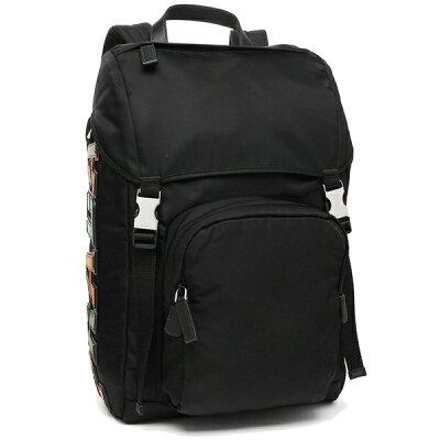 プラダ リュック メンズ/レディース PRADA 2VZ135 2ED3 HAY F0SGI ブラック マルチ