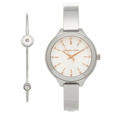 マイケルコース 腕時計 レディース ブレスレットセット MICHAEL KORS MK3596 シルバー/ホワイト