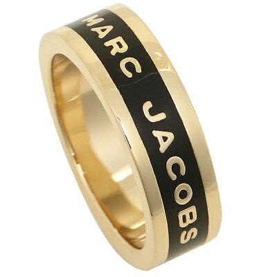 マークジェイコブス リング アクセサリー レディース MARC JACOBS M0013515 062 ブラック ゴールド