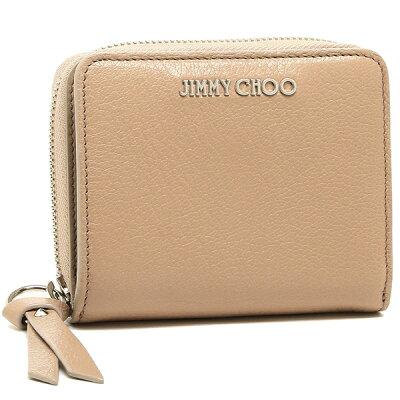 ジミーチュウ 二つ折り財布 レディース JIMMY CHOO ピンク