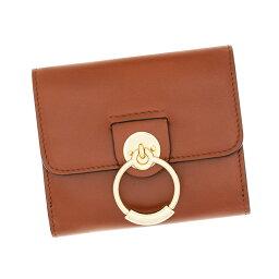 クロエ 二つ折り財布 レディース クロエ 財布 二つ折り財布 コンパクト セピアブラウン Chloe TESS テス レディース レザー CHC19SP041A37 27S Sepia Brown ギフト プレゼント