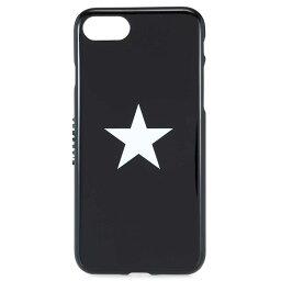 ジバンシィ スマホケース ジバンシー iphone7/8 ケース GIVENCHY アイフォンケース BK06411283 ポリウレタン ブラック ロゴ/スター