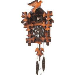 鳩時計 4MJ234RH06 掛時計 リズム時計 カッコーメイソンR 壁掛け時計 壁掛時計 壁かけ時計