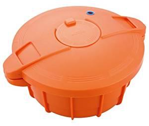 【ママ割】ポイント5倍(対象ショップ限定エントリー必要)マイヤー 電子レンジ圧力鍋 オレンジ MPC-2.3OR