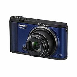 EXILIM CASIO デジタルカメラ EXILIM EX-ZR1600BE 自分撮りチルト液晶 オートトランスファー機能 Wi-Fi/Bluetooth搭載 ブルー