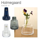 花瓶 【ポイント3倍 7/25】ホルムガード フローラ フラワーベース H12 ガラス花瓶 北欧 丸 シンプルデザイン Holmegaard ギフト・のし可