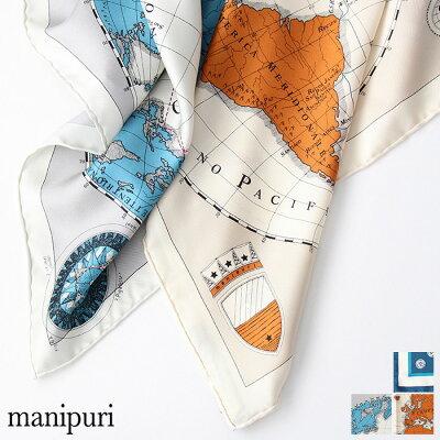 manipuri マニプリ シルクスカーフ 53cm x 53cm***
