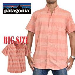 パタゴニア patagonia パタゴニア Lightweight Bluffside Shirt ライトウェイト・ブラフサイド・シャツ 54121 半袖 シャツ XL XXL 大きいサイズ メンズ あす楽