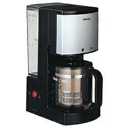 東芝 東芝 TOSHIBA コーヒーメーカー HCD-6MJ-K ブラック