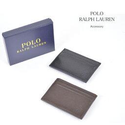 ラルフローレン 名刺入れ ポロ ラルフローレン polo ralph lauren レザー カードケース CARD HOLDER メール便発送