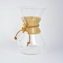 ケメックス ケメックス コーヒー メーカー 6カップ用 CHEMEX 6Cup Classic Glass Coffee Maker CM-6A 【西日本】