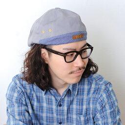 ブランドハンチング(メンズ) ┣┫【2個1000円引き対象】帽子/斜めストライプ生地切り返しシンプル無地ハンチング/シンプルなダークトーンもポップに着こなす技ありアイテム/メンズレディース 14+