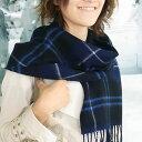 ロキャロン マフラー マフラー ラムズウール100% タータンチェック <パトリオット>英国王室御愛用 ロキャロン・オブ・スコットランド 【Lochcarron of scotland】 ウール マフラー ストール レディース かわいい 秋冬 防寒 送料無料