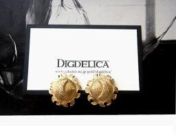 クリスチャンディオールのイヤリング(レディース) 【Christian Dior】ヴィンテージクリスチャンディオール・シュプルムーン・イヤリングv927【DIGDELICA】【ディデリカ】月