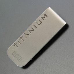 バーゴ VARGO マネークリップ T-428 チタニウム vargo 紙幣入れ メンズ財布 フォルダー 折り畳みナイフ 折りたたみナイフ フォールディングナイフ