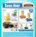 ソニックアワー  タカラトミー ビール泡立器 ソニックアワー Sonic Hour ブルー