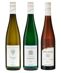ドイツワイン 絶品!ドイツ辛口リースリング飲み比べ 3本セット 【ゲオルグ・ブロイヤー醸造所 Weingut Georg Breuer】【白 ワイン】【辛口】【ドイツ】【うち飲み ワインセット】