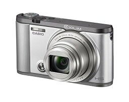 EXILIM 【新品】 CASIO デジタルカメラ EXILIM EX-ZR1700SR 自分撮りチルト液晶 オートトランスファー機能 Wi-Fi/Bluetooth搭載 シルバー