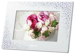 ソニー デジタルフォトフレーム 【新品】 ソニー SONY デジタルフォトフレーム S-Frame D720 7.0型 内蔵メモリー2GB クリスタル&ホワイト DPF-D720/WI