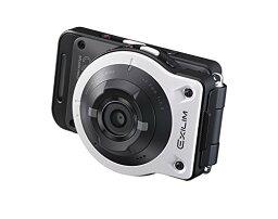 EXILIM 【新品】 CASIO デジタルカメラ EXILIM EXFR10WE カメラ部/コントロール部分離 フリースタイルカメラ 1410万画素 EX-FR10WE ホワイト