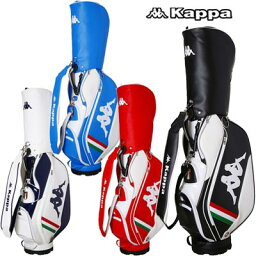 カッパ 【送料無料】【ネームプレート刻印無料】KG718BA21 カッパゴルフ キャディバッグ /Kappa GOLF